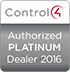 Control 4 Authorized Platinum Dealer 2016
