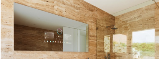 The Séura Smart Mirror is in the smart home solutions forecast for 2019