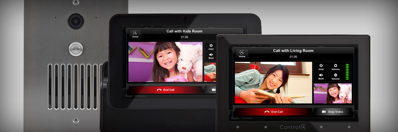 Control4 Video Intercom and Voice Communication